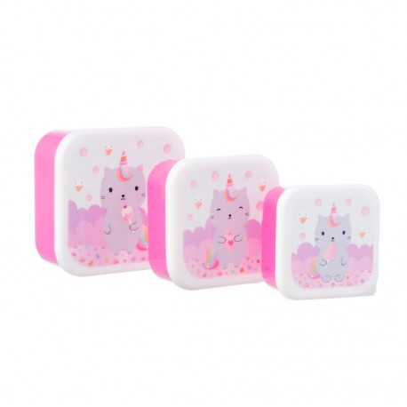 Sass & Belle - Lot de 3 lunchboxes