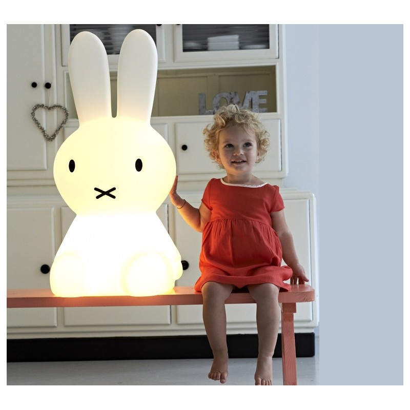 le lapin miffy taille xl h 80 cm mr