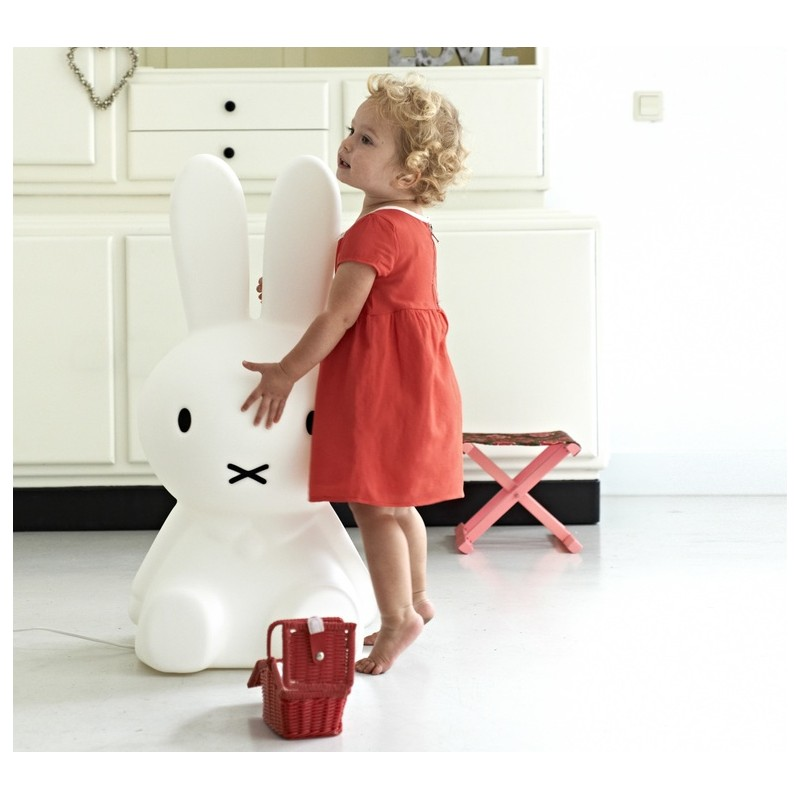 free lampe lapin miffy taille xl mr maria with veilleuse lapin miffy. Black Bedroom Furniture Sets. Home Design Ideas