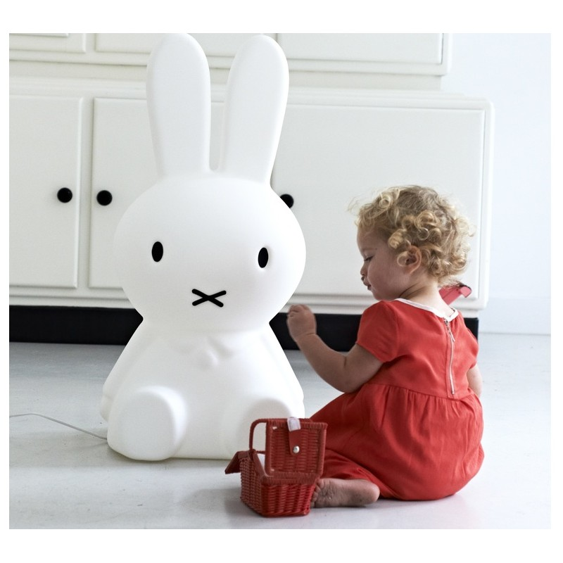 lampe lapin miffy taille xl mr maria. Black Bedroom Furniture Sets. Home Design Ideas