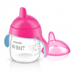 Biberon / Tasse à bec rose 260ml Philips Avent