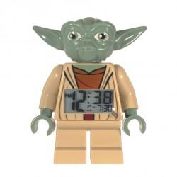 "Réveil / Horloge ""Yoda"" Star Wars Lego"