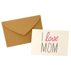 "Carte ""I love Mom"" - The Cool Company"