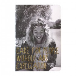 "Cahier A5 ""Care for people"" - The Cool Company"