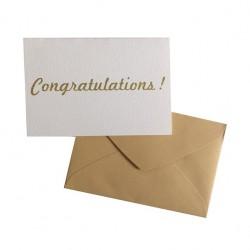 "Carte ""Congratulations"" - The Cool Company"