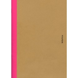 Cahier A5 bord rose - Letterbox