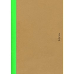 Cahier A5 bord vert - Letterbox