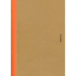 Cahier A5 bord orange - Letterbox