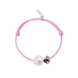 Bracelet Baby Flower Perle blanche - Claverin