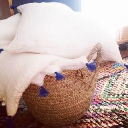 Edredon pompon Nomade - Annabel Kern