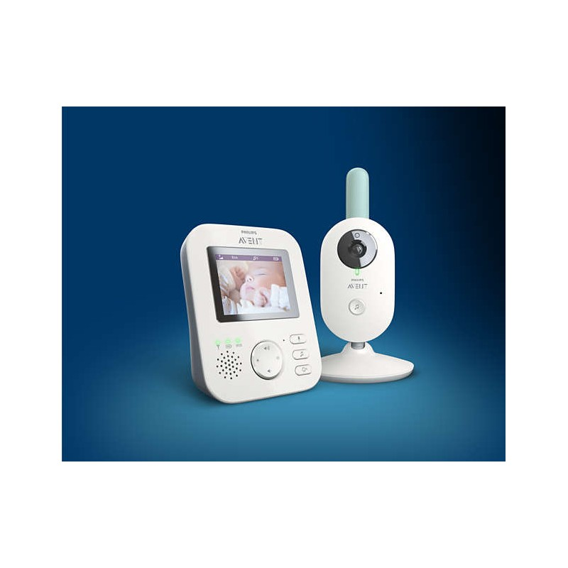 coute b b babyphone vid o num rique scd620 philips avent. Black Bedroom Furniture Sets. Home Design Ideas
