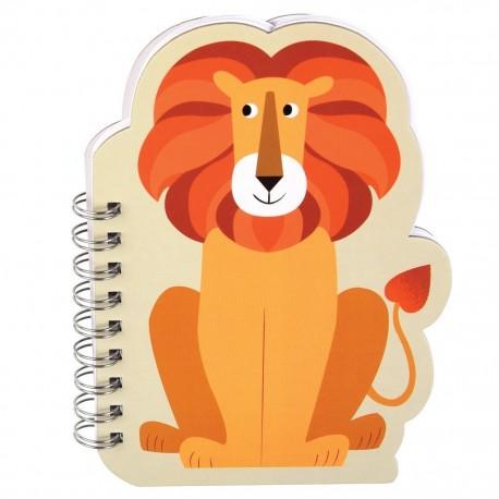 Carnet à spirales Lion- Rex