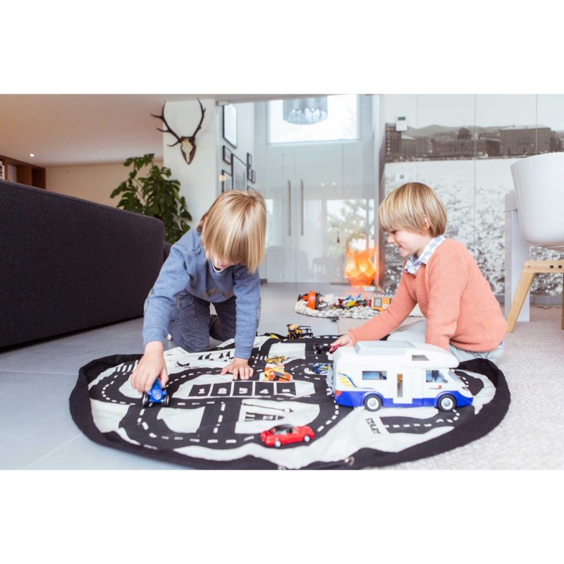 sac jouets tapis de jeux circuit play go. Black Bedroom Furniture Sets. Home Design Ideas