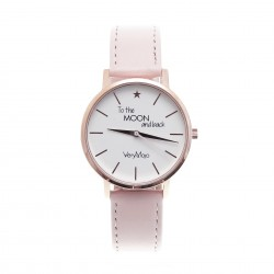 Montre To the Moon - Rose - Very Mojo