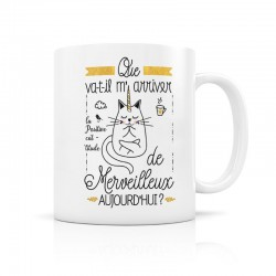"Mug ""Merveilleux"" - Crea Bisontine"