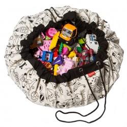 Sac à jouets / tapis de jeux Color My Bag - Play & Go