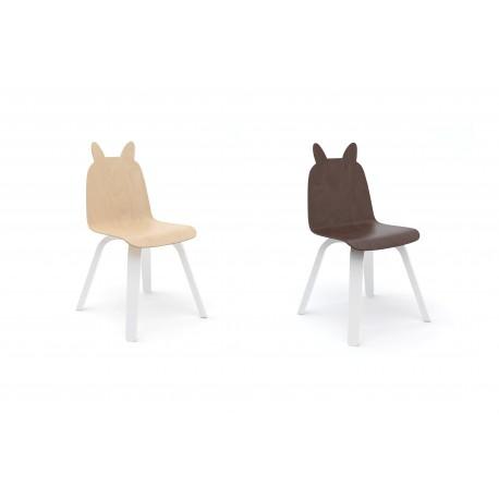 lot de 2 chaises lapin oeuf eboutique ouimums. Black Bedroom Furniture Sets. Home Design Ideas