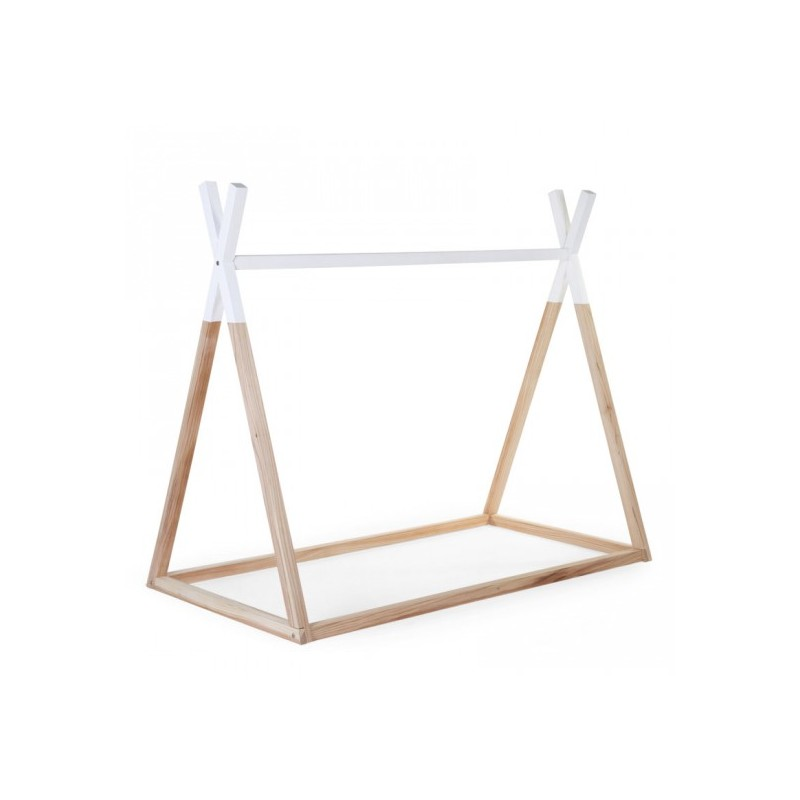 lit tipi 70x140 chilwood eboutique ouimums. Black Bedroom Furniture Sets. Home Design Ideas