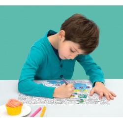 Set de table à colorier USA América - OMY