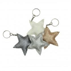 Mini porte clés étoile brillante Numero 74