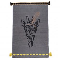 Tapis Girafe Plume circus laine 100x150cm Varanassi