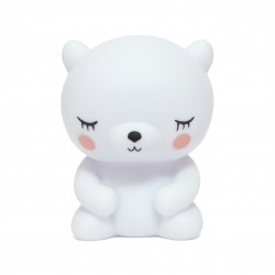 Petite Veilleuse Ours polaire blanc - Petit Monkey