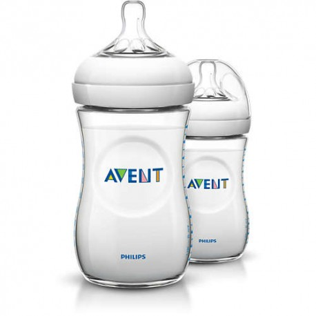 Biberons Natural 260ml x2 - Philips Avent