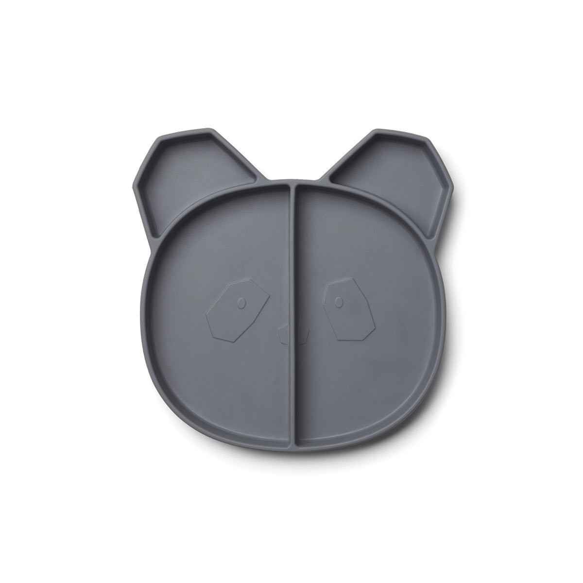 Assiette Panda Gris