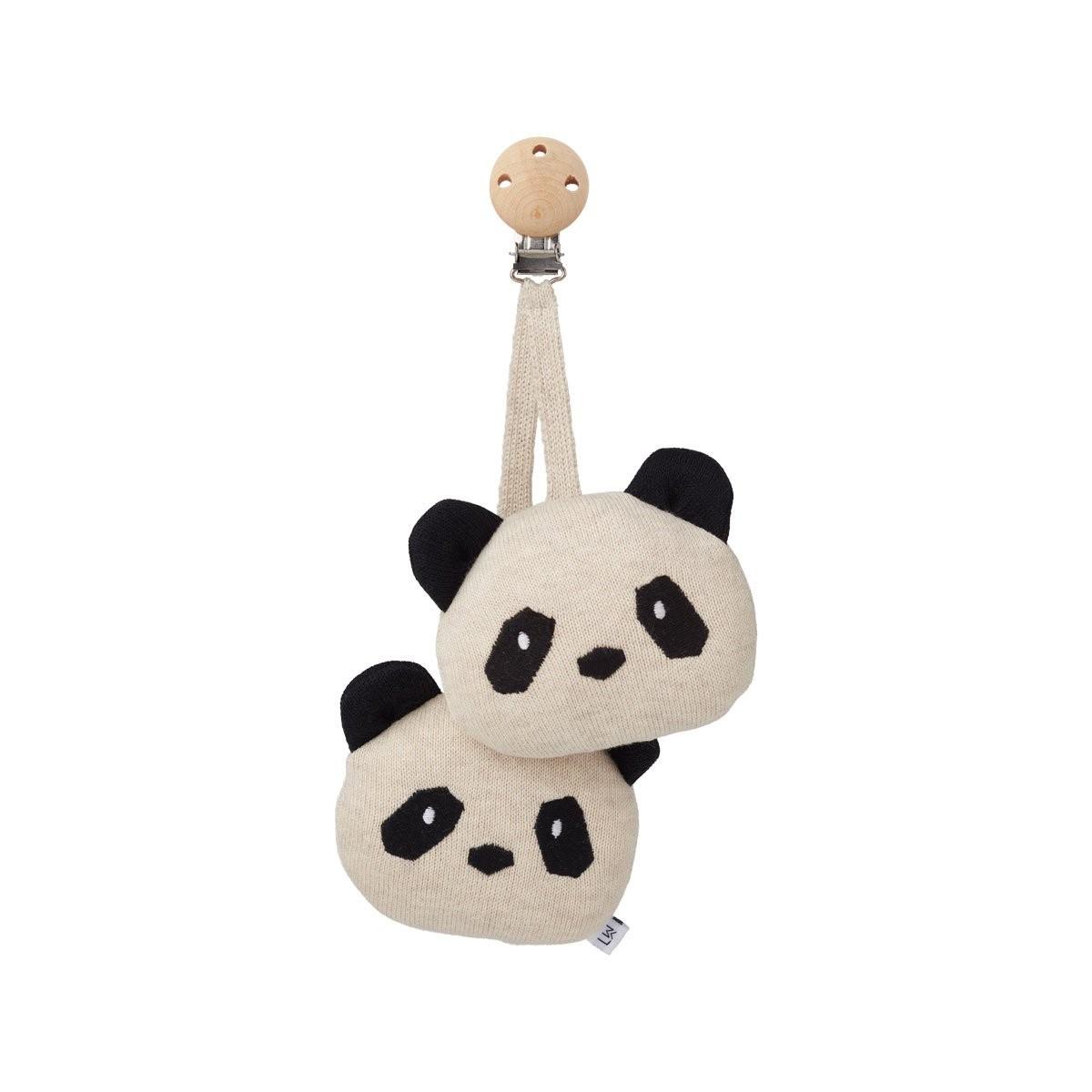 Attache-sucette Panda