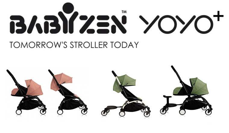 Nouveaux coloris YOYO+ Babyzen