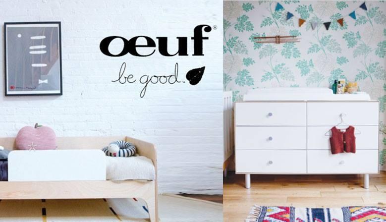 Découvrez toute la collection design et écolo d'OEUF !