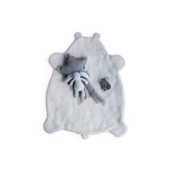 BABYPLAID TEDDY GREY POWDER