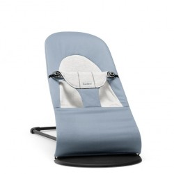 Transat Balance Soft, Coton/Jersey Bleu/Gris