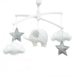Mobile Eléphant blanc - Pouce et Lina