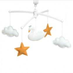 Mobile Cygne Blanc - Pouce et Lina
