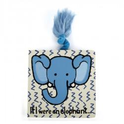 Livre d'éveil en Anglais Elephant Jellycat