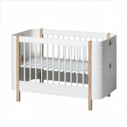 Oliver Furniture - Lit Wood Mini+ Evolutif 0-9 Ans